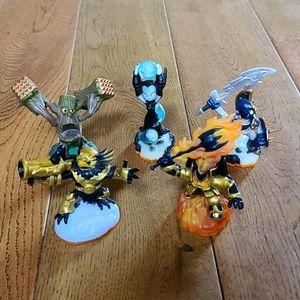 Skylanders Bundle of 5 Figures, Giants Series Lot